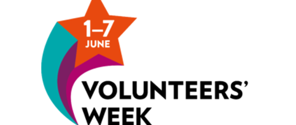Volunteers Week 1st - 7th June